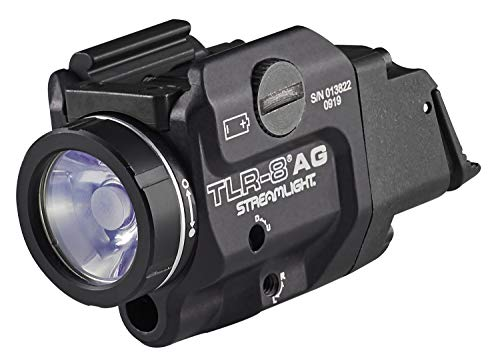 Streamlight 69434 TLR8A G Flex LowProfile RailMounted Tactical Light Black/Green Laser
