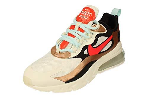 Nike Damenschuhe AIR MAX 270 React Sneaker aus mehrfarbigem Stoff CT3428-100