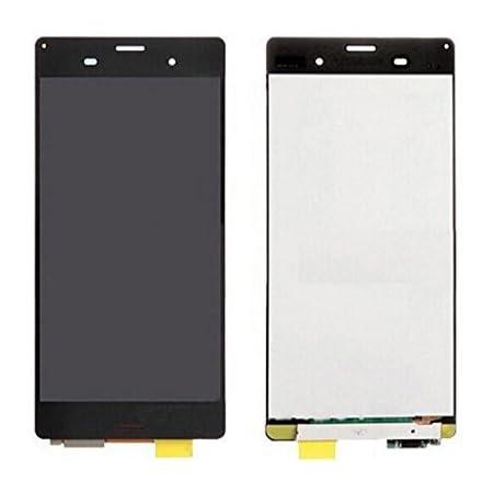 Molingo Sony Xperia Z3 D6603 D6643 D6653 L55u L55t 修理用フロントパネル(フロントガラスデジタイザ) タッチパネル 液晶パネルセット 修理工具付き (ブラック)