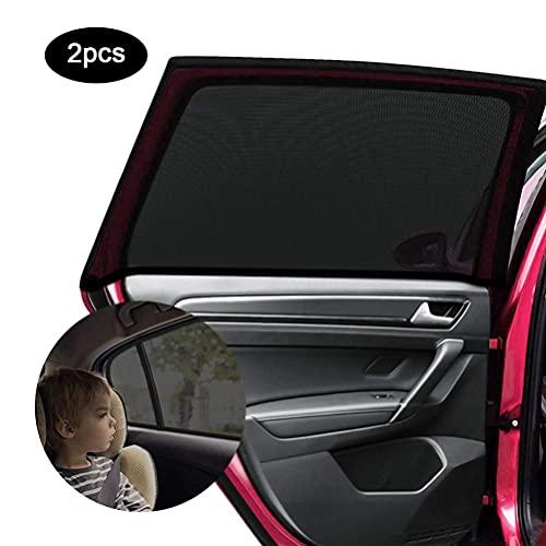 AGAKY Sonnenschutz Auto, 2 Stück Auto Sonnenschutz Baby mit UV Schutz, Universal Fenster autofenster Sonnenschutz für Schützt Mitfahrer, Baby, Haustiere