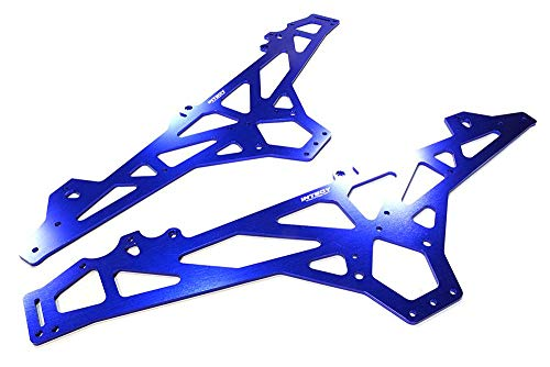 Integy RC Model Hop-ups C26394BLUE Billet Machined Main Chassis for HPI 1/10 Scale Crawler King