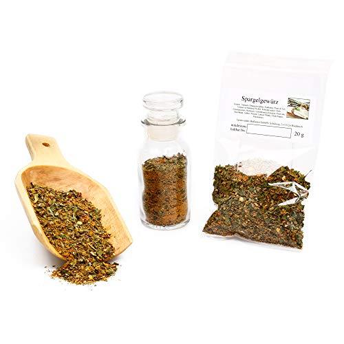 Spargel Gewürz | Gewürzmischung und Kräuter getrocknet in Premium-Qualität | Asparagus Blend | glutenfrei | 20g