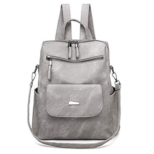 Nuova Borsa Femminile Pu Shoulder Bag Fashion Borsa Retrofemminile Oltre Il Confine Grigio 35.0 Cm * 6.0 Cm * 30.0 Cm