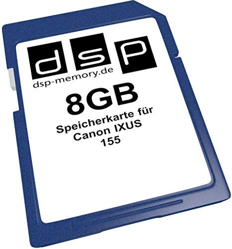 8GB Speicherkarte für Canon IXUS 155