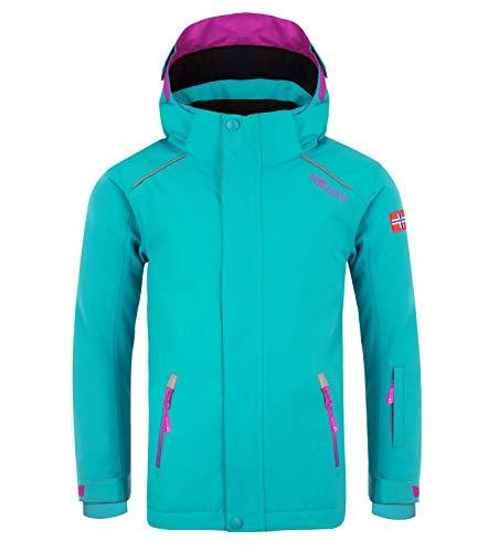 Trollkids Holmenkollen Pro Veste de Ski Enfant, Turquoise Taille Enfant 152 2019 Veste Polaire