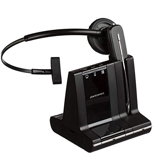 Plantronics SAVIW740M Savi 740 Monaural Convertible Headset, Microsoft Optimized