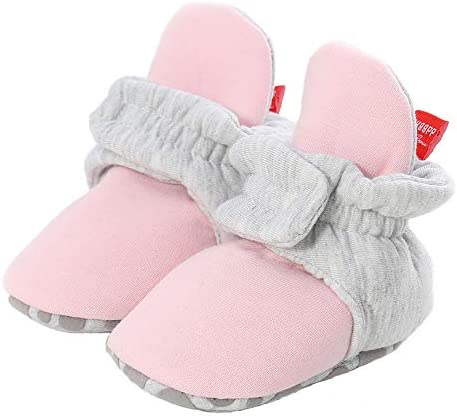 Methee Newborn Tampa Mall Baby Boys Girls Booties free shipping Sof Stay Slippers Sock On