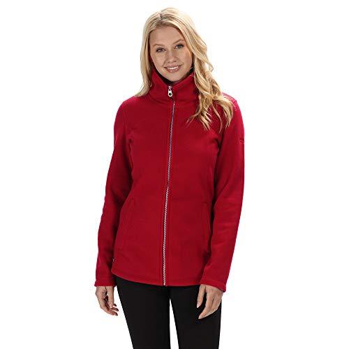 Regatta Fayona Damen Fleece-Jacke mit durchgehendem Reißverschluss S Delhi Red