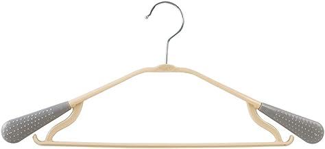 TXC- Hanger Seamless Non-Slip Clothing Support Household Clothes Rack Adult hanger Plastic hanger Multipurpose (Color : Gray)