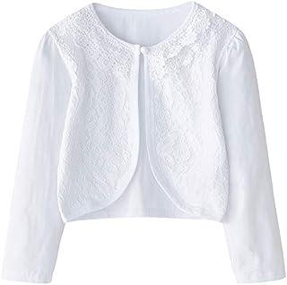 CHENXIN Girl Shrugs Knit Long/Short Sleeve Lace Bolero Cardigan Shrug
