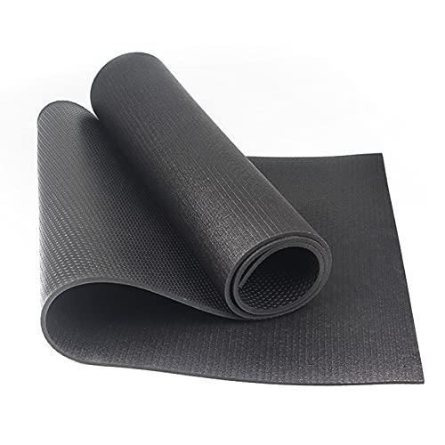 XJZSD La Alfombra de Yoga está Hecha de Material de PVC de Alta Densidad, diseño ecológico, sin Sabor y sin Deslizamiento Adecuado para la Aptitud Interior y Exterior.