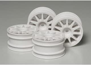 Tamiya America, Inc Suzuki Swift/M-Chassis Wheels White (4), TAM51237