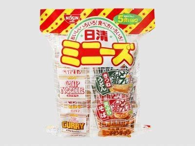 《ケース》 日清食品 日清ミニーズ 西 (5食)×6個 カップめん ラーメン うどん そば