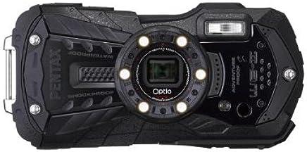 Pentax Optio WG-2 Digital Camera - Black (16MP, 12m Waterproof, 1.5m Shockproof, 5 x Wide Angle Zoom & Full HD Movie) 3 inch 16:9 LCD Screen