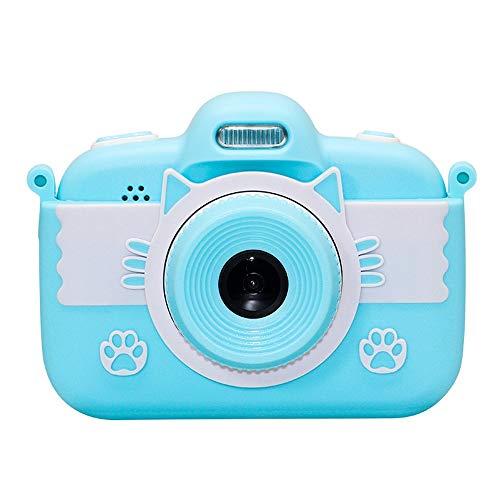 Ouuager-Home Kinderkamera Kinder-Camcorder Stoß- Digitalkamera mit 3-Zoll-HD-Touch Screen 2 Farben-großes Geschenk for Mädchen Jungen Kinderdigitalkameras Kinder Digitalkameras