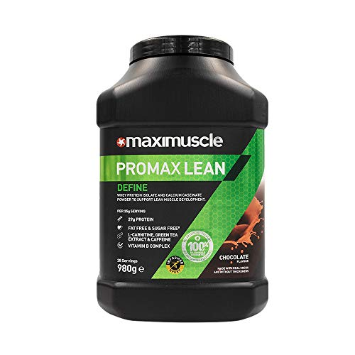 MAXIMUSCLE Promax Lean Protein Powder Chocolate Flavour,980 g