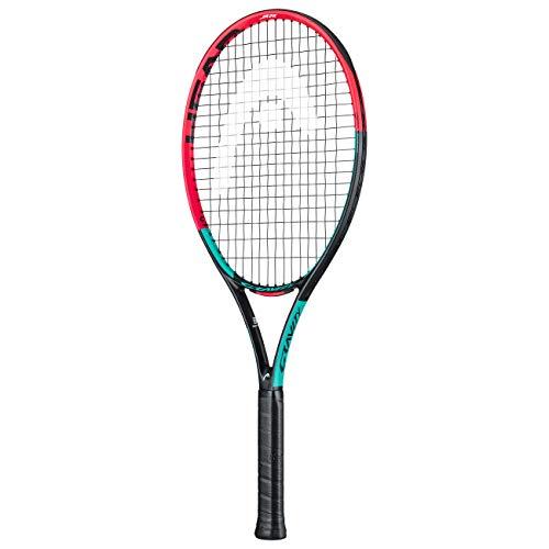 HEAD Unisex Jugend Gravity 26 Tennis Racket, mehrfarbig, 9-11 Jahre