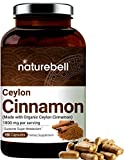 Best Ceylon Cinnamon Capsules - NatureBell Organic Ceylon Cinnamon Supplements, 1800mg Per Serving Review