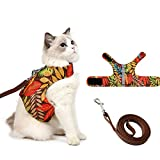 Cat Harness and Leash for Walking Escape Proof Air Mesh...