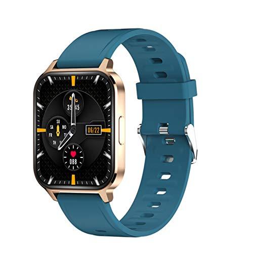 por Q18 Reloj Inteligente para Hombres y Mujeres IP68 Smartwatch IP68 Smartwatch con 24 Modos Deportivos 24h Ritmo cardíaco Montior Fitness Tracker DIY Fondo de Pantalla,F