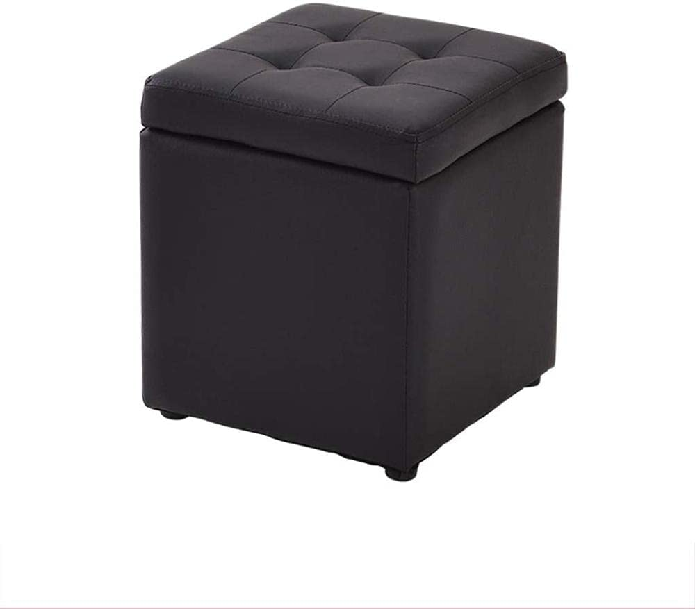 Footstool Storage Ottoman Cube lowest price Over item handling ☆ S Boxes Footrest Foldable