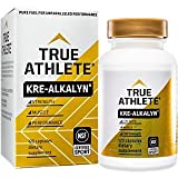 True Athlete Kre Alkalyn 1,500mg Helps Build Muscle, Gain Strength Increase Performance, Buffered Creatine NSF Certified for Sport (120 Capsules)