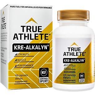 True Athlete Kre Alkalyn 1500mg Helps Build Muscle Gain Strength Increase Performance Buffered Creatine NSF Certified for Sport 120 Capsules