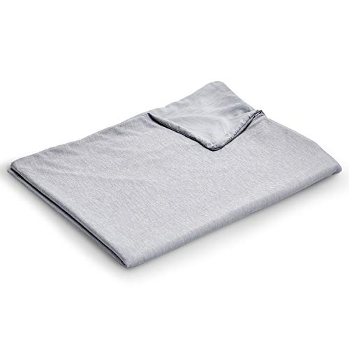 EXQ Home Cooling Weighted Blanket Cover 48x72-Full Size Premium Soft Duvet Cover...