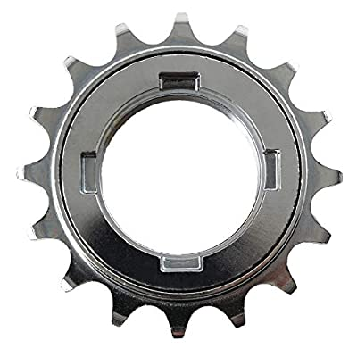 "CyclingDeal Single Speed Bike Bicycle Compatible with Shimano Type Freewheel Cassette 16 Teeth 1/2"" x1/8"""