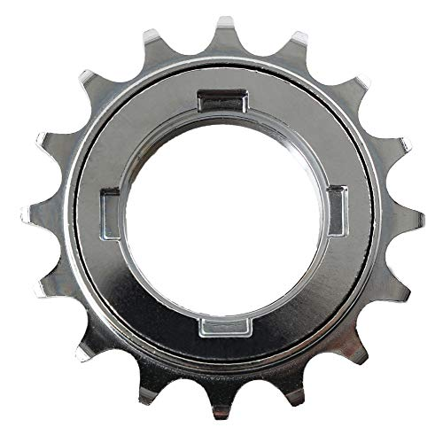 CyclingDeal Single Speed Bike Bicycle Compatible with Shimano Type Freewheel Cassette 18 Teeth 1/2' x3/32