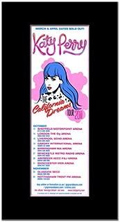 Music Ad World KATY PERRY - UK Tour 2011 Mini Poster - 28.5x10cm