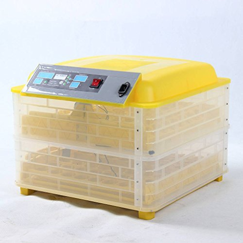 Liquor Automatic Egg Incubator Poultry Hatcher 112 Eggs for Quail, Chickens, Ducks, Pigeons Eggs 80W 110V