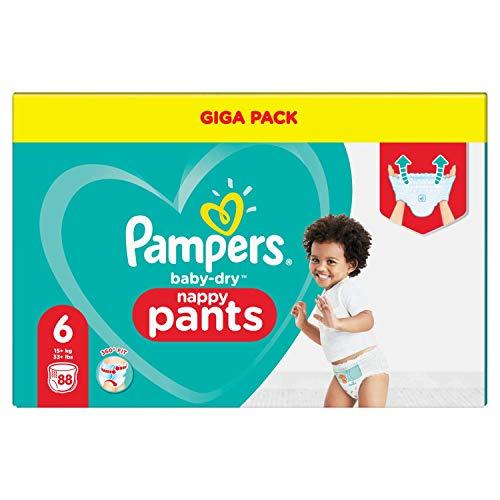 Pampers 81714244 Baby-Dry Pants windelhose, weiß