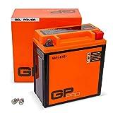 GP-PRO GB5L-B 12V 5Ah GEL-Batterie Rollerbatterie Akkumulator Roller Moped