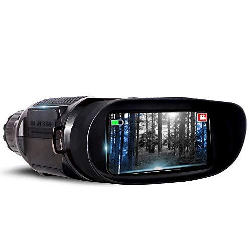KAUTO 100 Clear Night, Infrarot-Nachtsichtgerät, Nachtsichtbrille, mehrere Stromversorgungsmethoden, FMC Blue Film-Objektiv, Teleskop