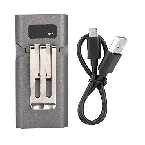 Sensor de carga USB LED cap clip lámpara faro pesca al aire libre camping cap faro