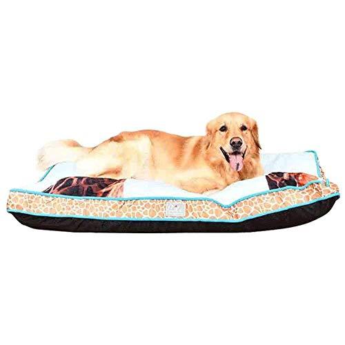 AXYQ grote rechthoek huisdier bank matten voor middelgrote grote honden, giraffen patroon Cover, wasbaar antislip