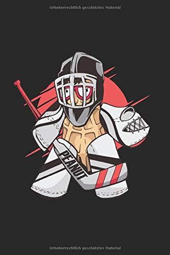 Eishockey: Hockey Notizblock Wintersport Geschenk