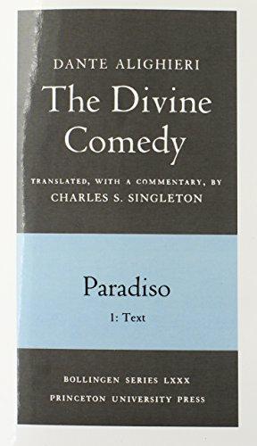 The Divine Comedy, Paradiso. Part 1. Text (v. 3)