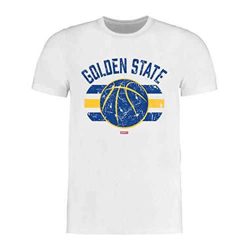 BRAYCE® Golden State T-Shirt I Basketball Shirt Größe S - 3XL I Basketballkleidung für Basketballspieler und Fans (XL)
