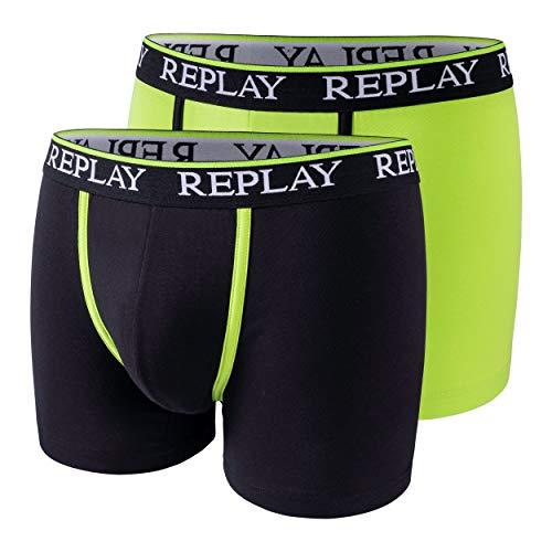 2-delige set boxershorts heren Replay katoen onderbroek nauwsluitend