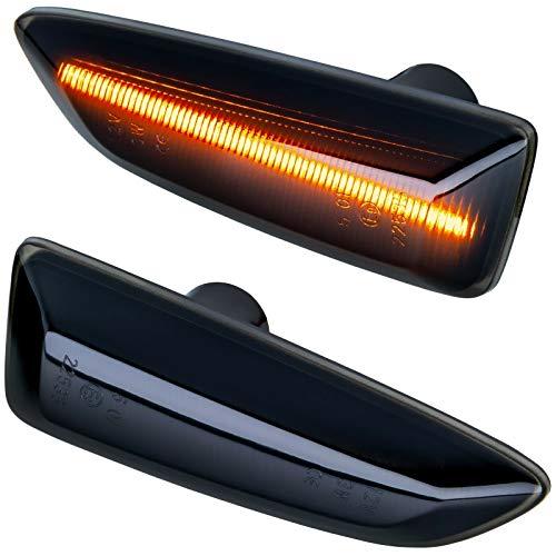 phil trade LED SEITENBLINKER kompatibel für Astra J K | Insignia B | Zafira C | SCHWARZ [71012-1]