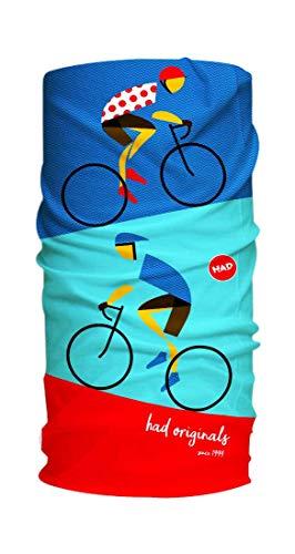 Had Original pour vélo Style rétro écharpes – Multicolore, Taille Unique