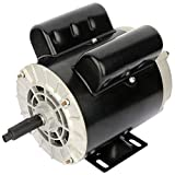 ECCPP 2 SPL HP Single Phase Air Compressor Electric Motor 56 Frame 60 HZ Frequency 3450 RPM 15.0A / 7.5A 5/8' Keyed shaft