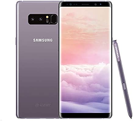 Samsung Galaxy Note 8 64 GB Celular Orchid Gray Desbloqueado Reacondicionado (Renewed)
