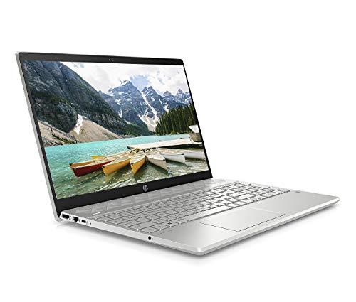 HP Pavilion 15-cs3001na 15.6 Inch Full HD Laptop, Intel Core i5-1035G1, 8 GB RAM, 512 GB SSD, NVIDIA GeForce GTX 1050 (3 GB GDDR5 Dedicated) Graphics, Window 10 Home, Silver (Renewed)