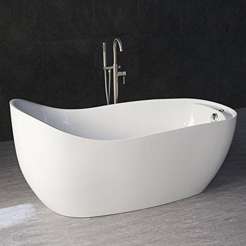 WOODBRIDGE Free standing Bathtub, B-0033 Air Bubble Tub