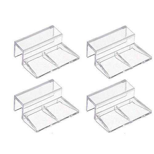 Case Cover 4pc Fish Tank Deckel Halter Multifunktions-behälter-deckelstütze Clip Durable Acryl-klipp-Halter Aquarium-Abdeckung-klipp-Halter