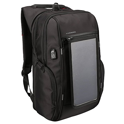 mochila con panel solar de la marca EHOMEE