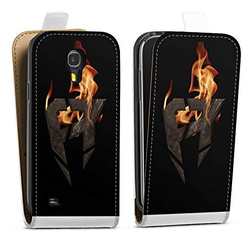 DeinDesign Tasche kompatibel mit Samsung Galaxy S4 Flip Case Hülle ApoRed Gaming Fanartikel Merchandise
